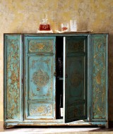 teal-and-gold-moroccan-style-wooden-cabinet-painted-by-hand-from-horchow-im-589-x-700